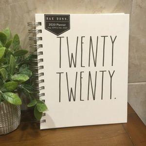 Rae Dunn Twenty Twenty Planner.  Small version NEW